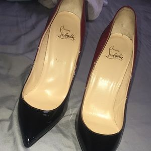 Red bottoms size 39 wore 4 times